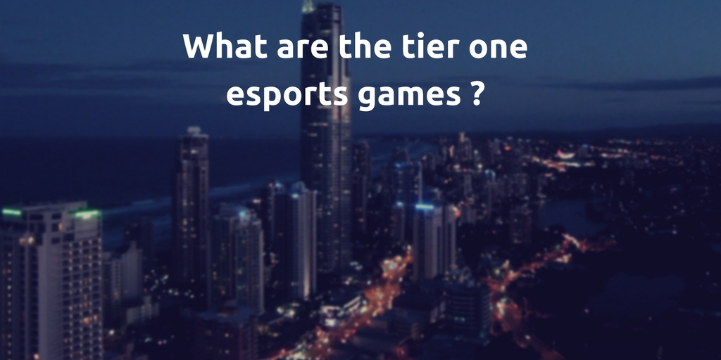 A data-driven approach to understand the relevance of games in esports